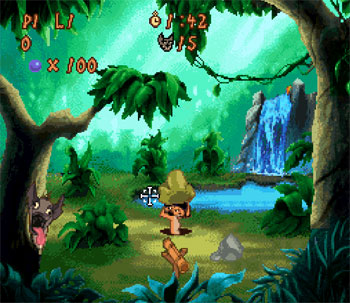 Pantallazo del juego online Disney's Timon & Pumbaa's Jungle Games (Snes)