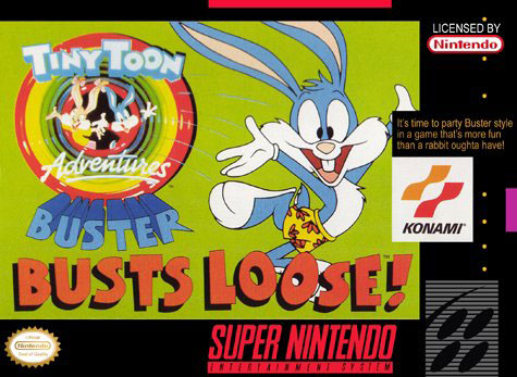 Carátula del juego Tiny Toon Adventures Buster Busts Loose (Snes)
