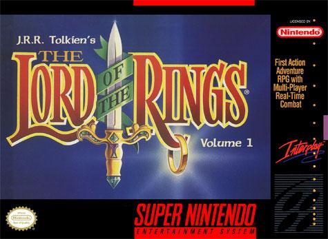 Portada de la descarga de JRR Tolkien's The Lord of the Rings – Volume 1