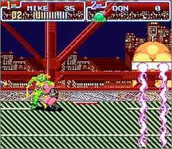 Imagen de la descarga de Teenage Mutant Ninja Turtles IV: Turtles in Time