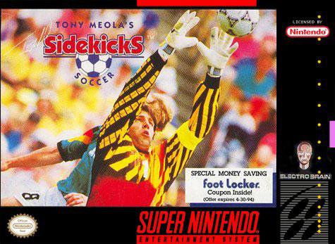 Carátula del juego Tony Meola's Sidekicks Soccer (Snes)