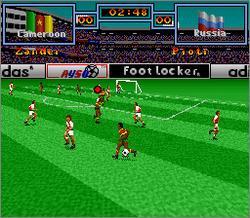 Pantallazo del juego online Tony Meola's Sidekicks Soccer (Snes)