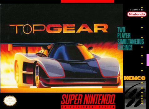 Carátula del juego Top Gear (Snes)