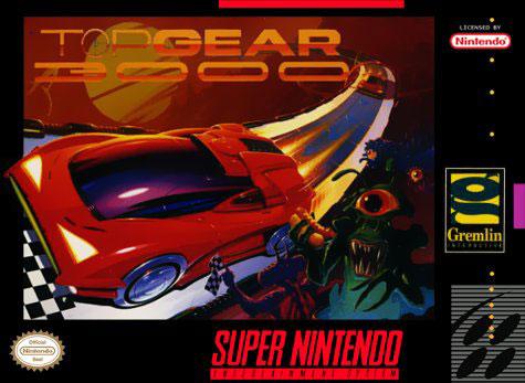 Carátula del juego Top Gear 3000 (Snes)