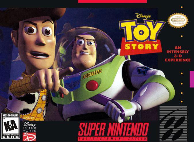 Carátula del juego Disney's Toy Story (Snes)