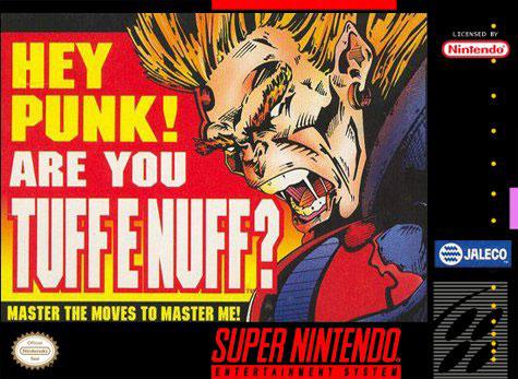 Carátula del juego Tuff E Nuff (Snes)