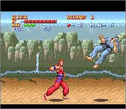 Pantallazo del juego online Ultimate Fighter (Snes)
