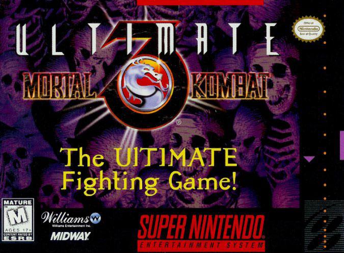 Portada de la descarga de Ultimate Mortal Kombat 3
