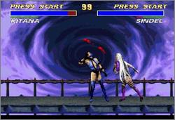 Pantallazo del juego online Ultimate Mortal Kombat 3 (Snes)