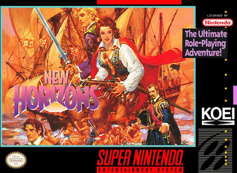Carátula del juego Uncharted Waters 2 New Horizons (Snes)