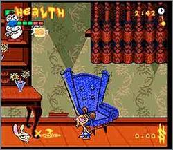 Pantallazo del juego online The Ren & Stimpy Show Veediots (Snes)