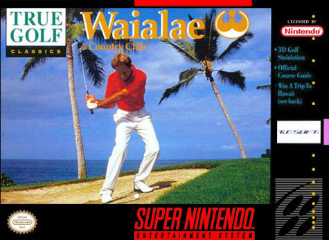 Carátula del juego True Golf Classics Waialae Country Club (Snes)