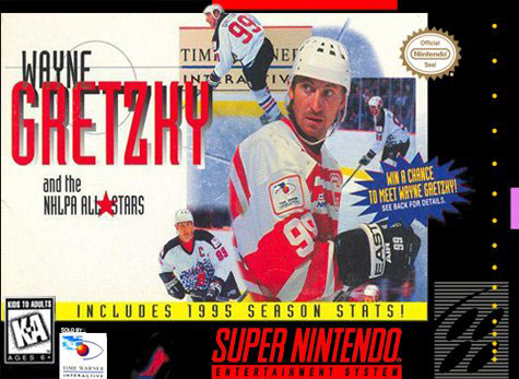 Portada de la descarga de Wayne Gretzky and the NHLPA All-Stars