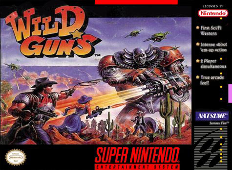 Portada de la descarga de Wild Guns