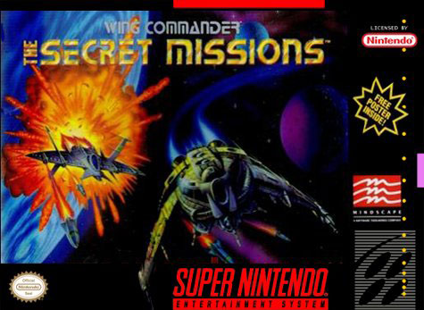 Carátula del juego Wing Commander The Secret Missions (Snes)