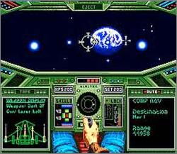 Pantallazo del juego online Wing Commander The Secret Missions (Snes)