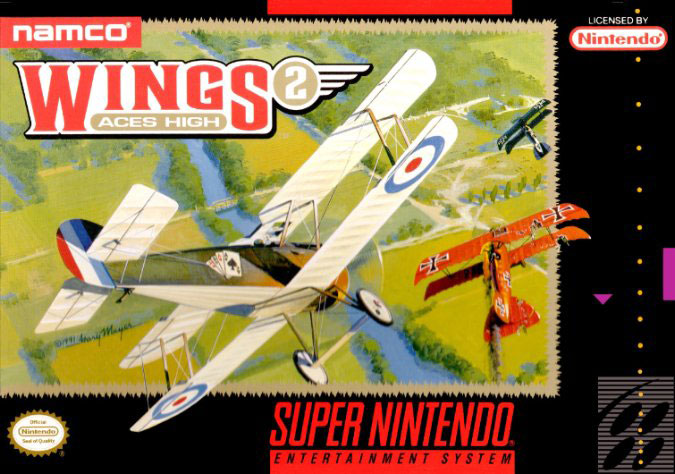 Portada de la descarga de Wings 2: Aces High