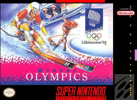 Carátula del juego Winter Olympic Games (Snes)