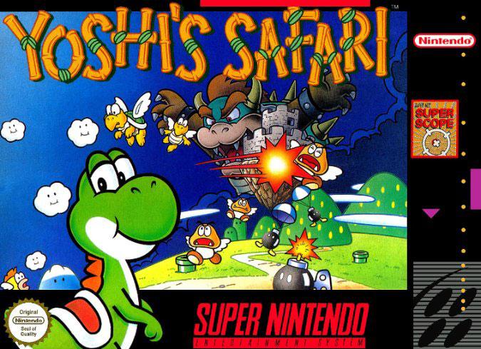 Carátula del juego Yoshi's Safari (Snes)