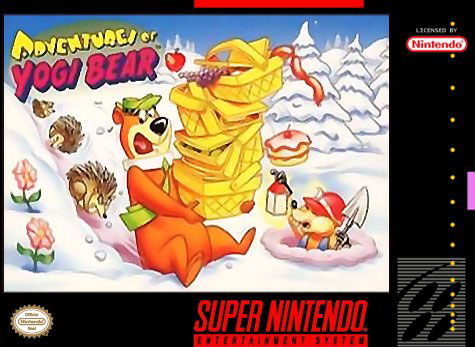 Carátula del juego The Adventures of Yogi Bear (Snes)