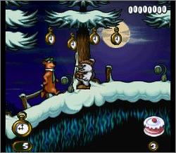 Pantallazo del juego online The Adventures of Yogi Bear (Snes)