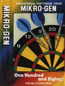 Juego online One Hundred and Eighty! (Spectrum)