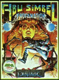 Carátula del juego Abu Simbel Profanation (Spectrum)