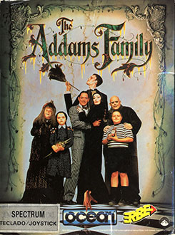 Juego online The Addams Family (Spectrum)