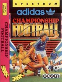 Juego online Adidas Championship Football (Spectrum)