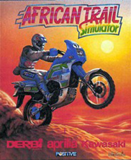 Carátula del juego African Trail Simulator (Spectrum)