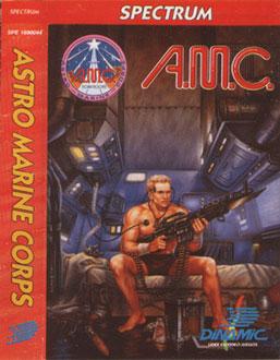Carátula del juego AMC Astro Marine Corps (Spectrum)
