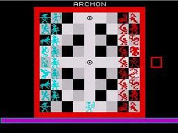 Pantallazo del juego online Archon (Spectrum)