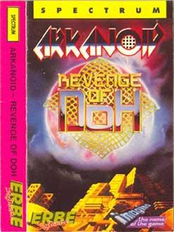Carátula del juego Arkanoid 2 Revenge of Doh (Spectrum)