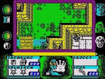 Pantallazo del juego online Avenger (Spectrum)