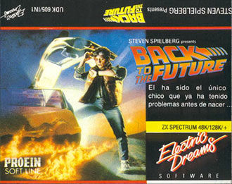 Juego online Back to the Future (Spectrum)