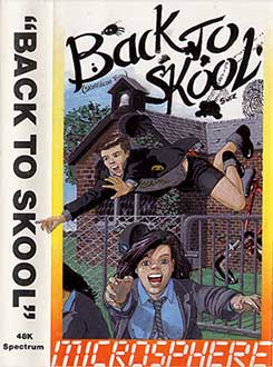 Juego online Back to Skool (Spectrum)