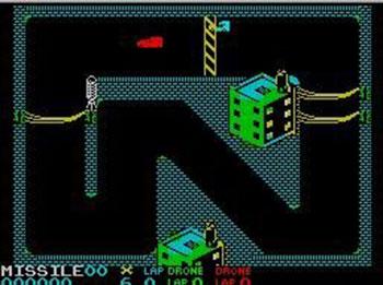 Pantallazo del juego online Badlands (Spectrum)