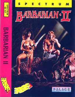 Juego online Barbarian 2: The Dungeon of Drax (Spectrum)