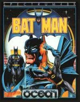 Carátula del juego Batman (Spectrum)