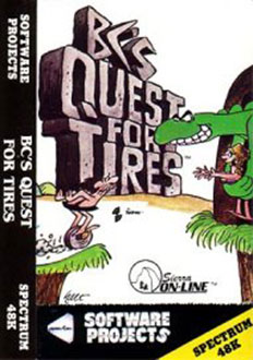 Juego online BC's Quest for Tires (Spectrum)