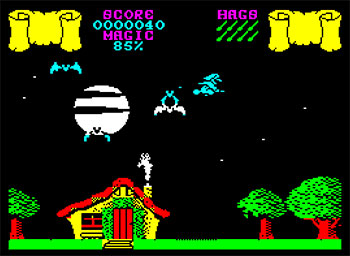 Pantallazo del juego online Cauldron (Spectrum)