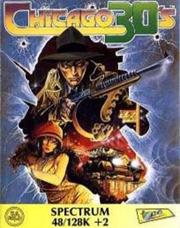 Carátula del juego Chicago 30's (Spectrum)
