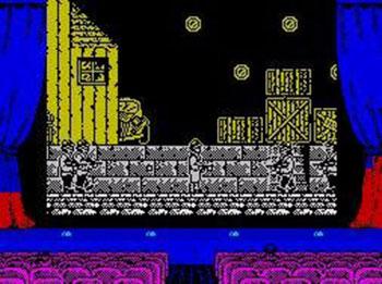Pantallazo del juego online Chicago 30's (Spectrum)