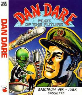 Juego online Dan Dare: Pilot of the Future (Spectrum)