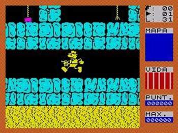 Pantallazo del juego online Fred (Spectrum)