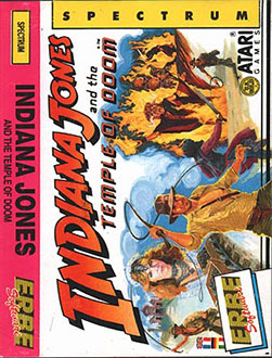 Juego online Indiana Jones and the Temple of Doom (Spectrum)