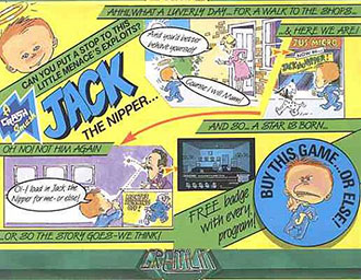 Juego online Jack the Nipper (Spectrum)