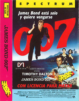 Juego online 007: Licence to Kill (Spectrum)