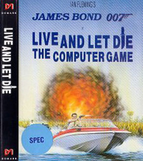 Juego online 007: Live and Let Die (Spectrum)