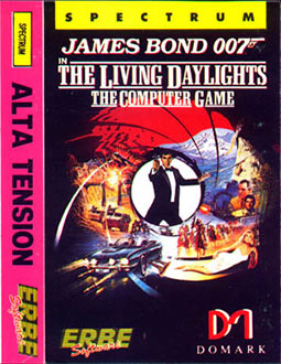 Carátula del juego 007 The Living Daylights (Spectrum)